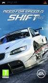 Cartula oficial de de Need for Speed Shift para PSP
