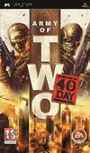 Car�tula oficial de de Army of Two: The 40th Day para PSP