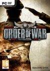 Cartula oficial de de Order of War para PC