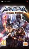 Cartula oficial de de SoulCalibur: Broken Destiny para PSP