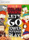 Cartula oficial de de South Park Let's Go Tower Defense Play! XBLA para Xbox 360
