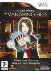 Car�tula oficial de de Cate West: The Vanishing Files para Wii