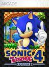 Car�tula oficial de de Sonic the Hedgehog 4: Episode 1 XBLA para Xbox 360