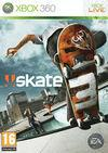 Cartula oficial de de Skate 3 para Xbox 360