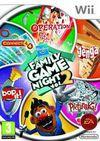Car�tula oficial de de Hasbro Family Game Night 2 para Wii