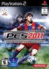 Cartula oficial de de Pro Evolution Soccer 2011 para PS2