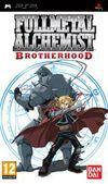 Cartula oficial de de Fullmetal Alchemist: Brotherhood para PSP