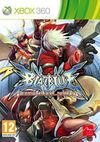 Cartula oficial de de BlazBlue: Continuum Shift para Xbox 360