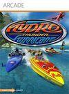 Cartula oficial de de Hydro Thunder Hurricane XBLA para Xbox 360
