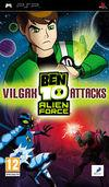 Car�tula oficial de de Ben 10 Alien Force: Vilgax Attacks para PSP