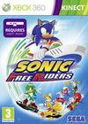 Cartula oficial de de Sonic Free Riders para Xbox 360