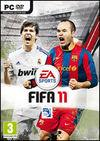 Cartula oficial de de FIFA 11 para PC