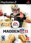Cartula oficial de de Madden NFL 11 para PS2