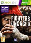 Car�tula oficial de de Fighters Uncaged para Xbox 360