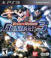 Car�tula oficial de de Dynasty Warriors: Gundam 3 para PS3