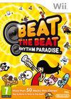 Cartula oficial de de Beat the Beat: Rhythm Paradise para Wii