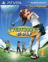 Car�tula oficial de de Everybody's Golf para PSVITA