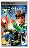 Cartula oficial de de Ben 10 Ultimate Alien Cosmic Destruction para PSP