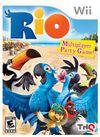 Cartula oficial de de Rio The Video Game para Wii