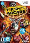 Cartula oficial de de Top Shot Arcade para Wii