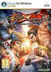 Cartula oficial de de Street Fighter X Tekken para PC