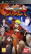 Cartula oficial de de Naruto Shippuden Ultimate Ninja Impact para PSP