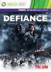 Cartula oficial de de Defiance para Xbox 360