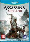 Car�tula oficial de de Assassin's Creed III para Wii U