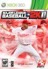 Car�tula oficial de de Major League Baseball 2K11 para Xbox 360