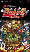 Car�tula oficial de de Williams Pinball Classics para PSP