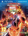 Cartula oficial de de Ultimate Marvel vs Capcom 3 para PSVITA