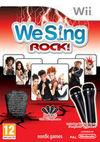 Car�tula oficial de de We Sing Rock! para Wii
