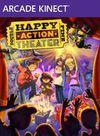 Car�tula oficial de de Happy Action Theatre XBLA para Xbox 360