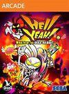 Cartula oficial de de Hell Yeah! La furia del conejo muerto XBLA para Xbox 360