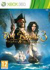 Cartula oficial de de Port Royale 3: Pirates & Merchants para Xbox 360