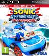Cartula oficial de de Sonic & All-Stars Racing Transformed para PS3