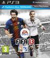 Cartula oficial de de FIFA 13 para PS3