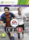Cartula oficial de de FIFA 13 para Xbox 360