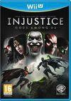 Car�tula oficial de de Injustice: Gods Among Us para Wii U