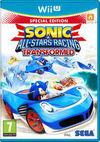 Car�tula oficial de de Sonic & All-Stars Racing Transformed para Wii U