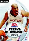 Car�tula oficial de de NBA Live 2004 para PC