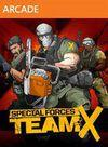 Cartula oficial de de Special Forces: Team X para Xbox 360