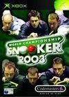 Car�tula oficial de de World Championship Snooker 2003 para Xbox