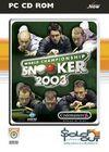 Car�tula oficial de de World Championship Snooker 2003 para PC
