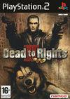 Cartula oficial de de Dead to Rights 2 para PS2