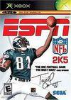 Cartula oficial de de ESPN NFL 2005 para Xbox