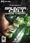 Cartula oficial de de Splinter Cell Chaos Theory para PC