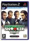 Car�tula oficial de de World Championship Snooker 2004 para PS2
