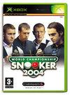 Car�tula oficial de de World Championship Snooker 2004 para Xbox