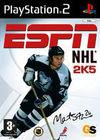 Cartula oficial de de ESPN NHL 2005 para PS2